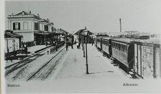Station Alkmaar (jaartal: Voor 1900) - Foto's SERC