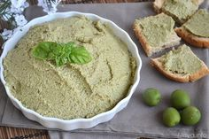 » Patè di olive verdi e mandorle Ricette di Misya - Ricetta Patè di olive verdi e mandorle di Misya