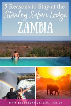 5 Reasons to Stay at the Luxurious Stanley Safari Lodge in Livingstone, Zambia Livingstone, Amazing Destinations, Us Travel, The Secret, Wander, Traveling By Yourself, Safari, Around The Worlds, Group