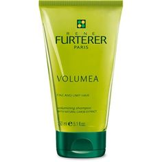 Volumea Shampoo - A volumizing shampoo that add body and bounce to flat hair without stripping strands of their essential nutrients. Hair is perfectly detangled and regains an amplified but lightweight and long lasting volume. Contains Natural Carob extract that creates long-lasting volume and pH neutral cleansing agents for a gentle, no stripping strands.