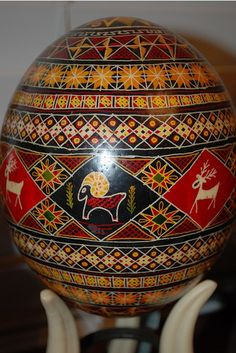Hutsul pysanka, Ukraine, from Iryna with love