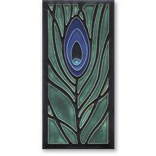 Peacock Feather  Motawi Tile