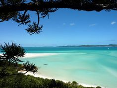 Australia - Whitsunday Islands - The amazing view from Hill Inlet.