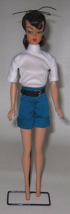 Vintage OOAK Barbie Doll Brunette Redone to look like Hong Kong Bild Lilli #BP47 | eBay