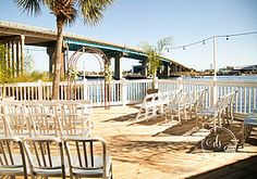 Our beautiful waterfront patio is perfect for wedding ceremonies, BBQ's or outdoor parties.