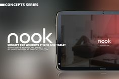 NOOK – Concept for Windows Phone and Tablet