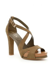 TOD'S Suede Sandals. #tods #shoes #https: