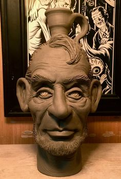 Lincoln Jug-WIP by thebigduluth on DeviantArt