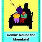"""""""SHE'LL BE COMIN' ROUND THE MOUNTAIN!"""" - A GROUP GAME THAT TRAVELS FAST!  A familiar folk tune really rocks in this up-tempo GROUP GAME interpretation!   KIDS CREATE THE LANGUAGE in this funny, active game!  What to eat on that mountain?  What to play?  Where to sleep?  New fun lyrics and a 'Horse Buddy' Craft (template included) make this one a favorite of mine!  Add some shakers and go """"YEE-HA!""""  (6 pages)  $"""