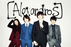 [Alexandros] (ex [Champagne]) There is nothing hotter than a rock band in a suit!