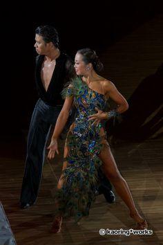 スーパージャパンカップ2012〜プロラテン&セグエスタンダード〜の画像   ANIEL NEWS 社交ダンスドレス