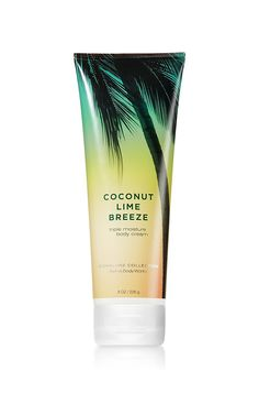 Bath Body Works Coconut Lime Breeze 8.0 oz Triple Moisture Body Cream (8 Ounces) * Find out more about the great product at the image link. (Note:Amazon affiliate link) #coconutoilSkinCare
