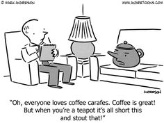 A Teapot Complains About Coffee.