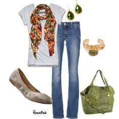 """""""Gold Greenie"""" by hosefish on Polyvore"""
