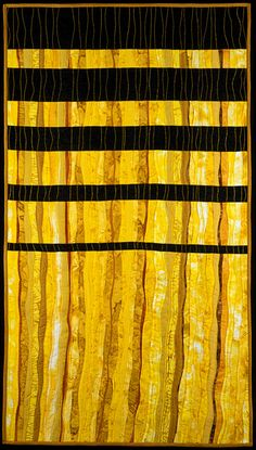 """image of quilt titled """"Longing for Long Sunny Days (before Winter Solstice)"""" by Barbara O'Steen © 2005"""