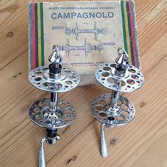 NOS Campagnolo Gran Sport High Flange Road Hubset Vintage Campy 36... for your eyes only...