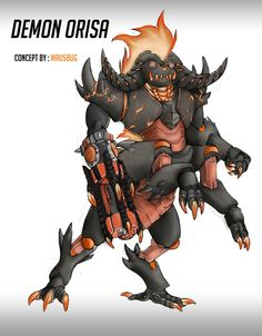 Is it just me, or should all the heroes have demon skins Skins Characters, Fantasy Characters, Story Inspiration, Character Design Inspiration, Overwatch Skin Concepts, Overwatch Costume, Balrog, Watch Wallpaper, Overwatch Fan Art