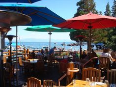 Sunnyside, Tahoe City- eat on the deck...have the fried zucchini...yum!