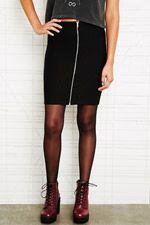 Zipped Skirt