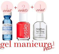 Diy gel nails More