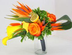 diy tropical bridal bouquet - Google Search
