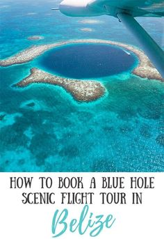 Taking a tour to see the Great Blue Hole is one of the best experiences you can have in Belize. Read our must-know tips on how to book and what to expect! #greatbluehole #belizetravel #belizetips