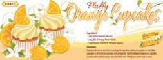 Fluffy Orange Cupcakes. I love this whole site!