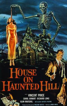 House on Haunted Hill (1959)  Directed by William Castle  Starring Vincent Price,Carol Ohmart & Elijah Cooke Jr.