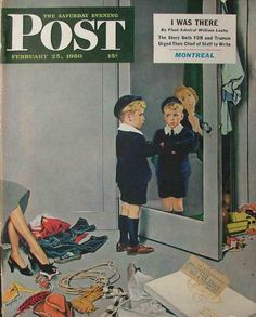 Post cover, 1950 // George Hughes (1900-1990)