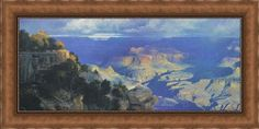 """National Treasure - Framed 3D Textured Canvascape Art by Curt Walters 65 1/2""""x35 3/4"""""""