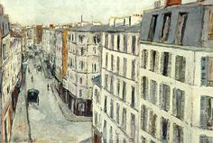 Maurice Utrillo, his paintings in person are more textured which the photograph can not capture.