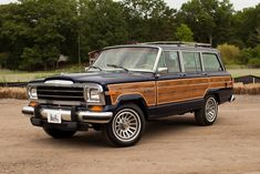 Bid for the chance to own a Restored 1991 Jeep Grand Wagoneer at auction with Bring a Trailer, the home of the best vintage and classic cars online. Auto Jeep, Jeep Cars, Jeep Wagoneer, Car Furniture, Automotive Furniture, Automotive Decor, Furniture Design, Luxury Suv, Classic Cars Online