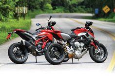 Comparativo: Ducati Hypermotard versus MV Agusta Rivale 800 - Duas Rodas - Notícias, Testes, Vídeos e Lançamentos de Motos