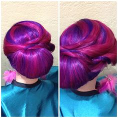 Twisted Updo.... Very popular for weddings!