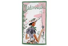 conde nast beach towel, mademoiselle