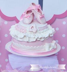 Shabby Chic Princess Tea Party / Birthday Party via Kara's Party Ideas - www. Ballerina Birthday Parties, Ballerina Party, Tea Party Birthday, 4th Birthday Parties, Baby Party, Girl Birthday, Birthday Ideas, Birthday Sweets, Happy Birthday