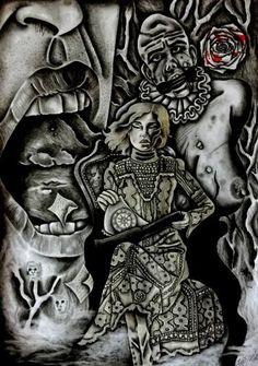 "Saatchi Art Artist Celeste Gómez; Drawing, ""PRIVATE"" #art"