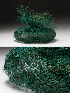 """TATANIA'S PURSE"" Nancy Koenigsberg Coated copper wire"