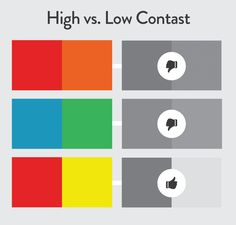 color contrast levels