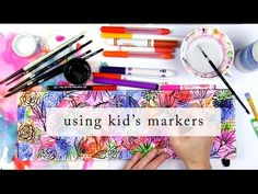 playing with kids markers from Alisa Burke