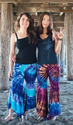 Fairy Pants: Cali Kind Clothing Co. Tie-dye