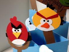 angry birds card, cute!
