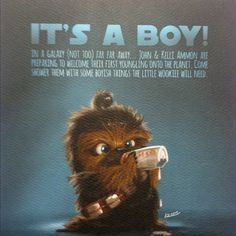star wars baby shower invites  | star wars baby shower hubby is a graphic designer and made the invites ...