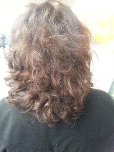 Hiukset värjäyksen jälkeen 1