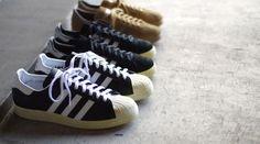 adidas Originals for mita sneakers Holiday 2012 Vintage Pack – Campus 80s, Superstar 80s & Tobacco