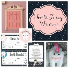 FREE Printable Tooth Fairy Letter, tooth fairy dust, tooth fairy door tutorial, easy DIY tooth fairy pillow....It's Tooth Fairy Whimsy! www.makinglifewhimsical.com #toothfairy #tooth #fairy