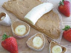 PB& banana roll up, at chia seeds or flax for added goodness plus raw honey