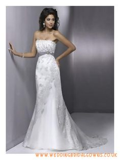 Empire Strapless Elegant Wedding Dresses 2011