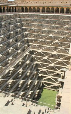 Chand Baori is the oldest stepwell in Rajasthan, having been constructed in the 8th-9th centuries A.D.