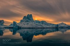 midnighsun by Dionys_Moser ice iceberg photoworkshop midnightsun Greenland Ilulissat Disco Bay midnighsun Dionys_Moser